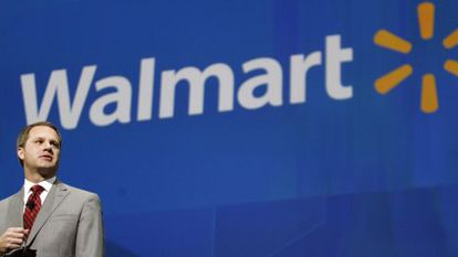 Doug McMillon, o novo homem forte do Walmart.