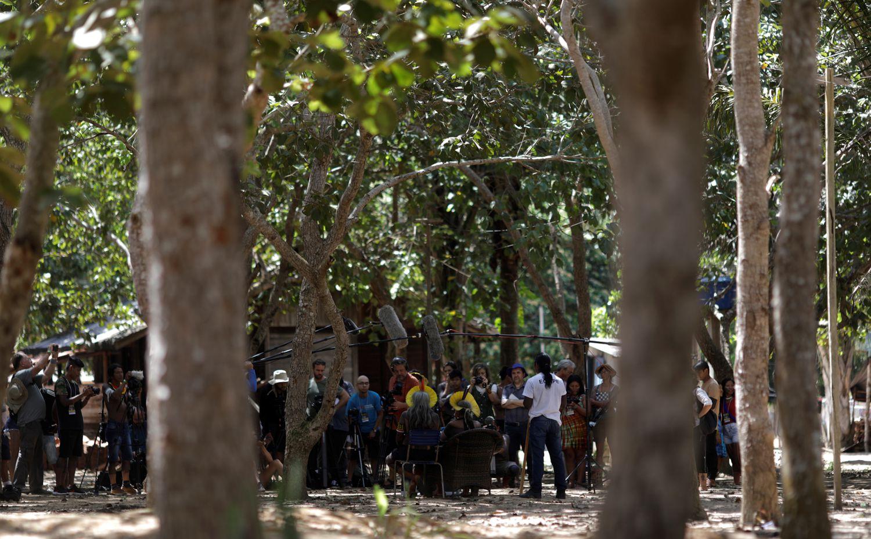 No encontro, os povos indígenas reafirmaram o apoio ao cacique Raoni, em registro feito em 15 de janeiro.