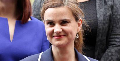 A deputada laborista Jo Cox, o passado maio.