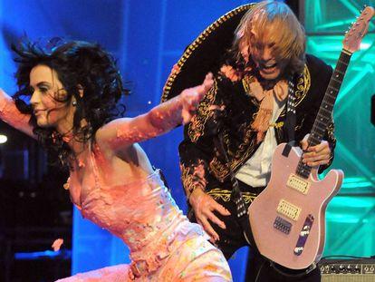 Katy Perry durante cerimônia da MTV