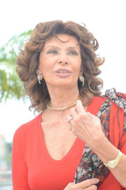 Sophia Loren, de 81 anos.