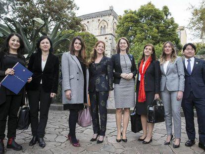 A comissária europeia de Igualdade de Gênero, Vera Jourova, durante o Encontro de Igualdade de Gênero do G7, em Taormina (Itália), na semana passada.