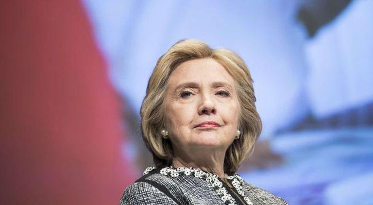 Hillary Clinton, em um ato em Washington.
