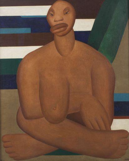'A Negra' (1923).