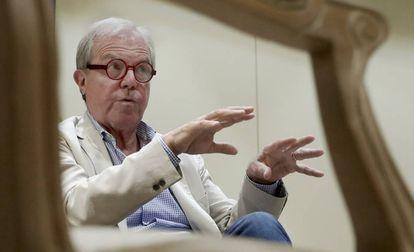 Nicholas Negroponte durante a entrevista nesta quarta-feira em Madri.