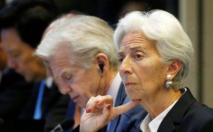 Diretora-gerente do FMI, Christine Lagarde.