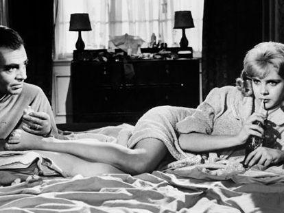 James Mason e Sue Lyon em 'Lolita', de Stanley Kubrick.