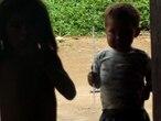 Crianças do povo Sanöma, que vive na Terra Indígena Yanomami, na fronteira do Brasil com a Venezuela.Sílvia Guimarães / Arquivo pessoal