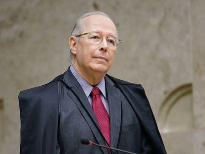O ministro Celso de Mello, em 2019.