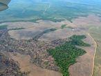 Imágenes aéreas de la deforestación en la Amazonia colombiana