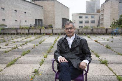 Juan Fernández Krohn em Bruxelas.