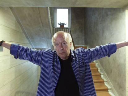 O escritor Eduardo Galeano.