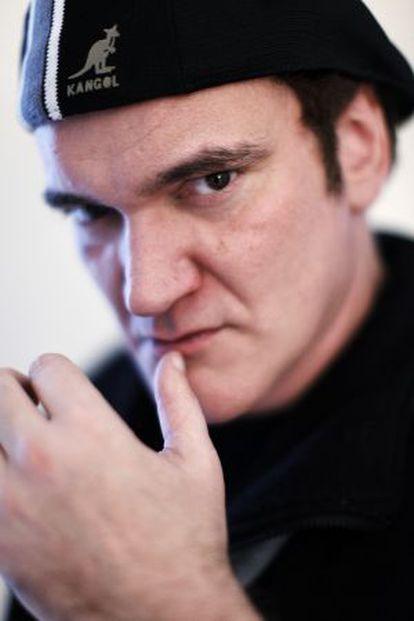 O diretor norte-americano Quentin Tarantino.
