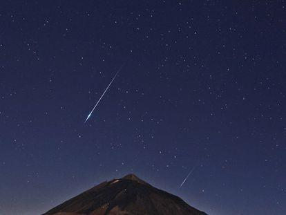 Esta semana poderão ser vistas até duas estrelas cadentes por minuto
