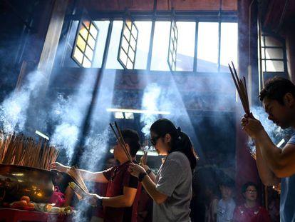 As celebrações de Ano Novo chinês, em imagens