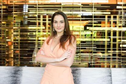 Laís Taliberti, candidata a vereadora pelo Patriota.