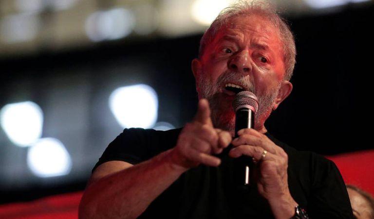 Ex-presidente Lula discursa nesta quarta-feira, em São Paulo.