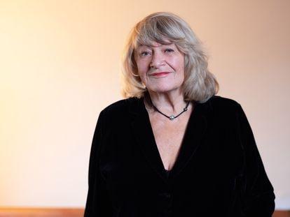 A feminista Alice Schwarzer em uma imagem de arquivo de 2018.