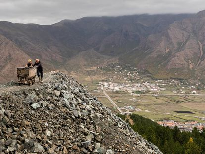 Uma vida precária nas ricas montanhas de Albânia
