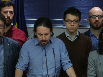 Pablo Iglesias, líder do Podemos.