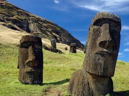 Ainda há mistérios a serem elucidados sobre os construtores dos moais da Ilha de Páscoa.
