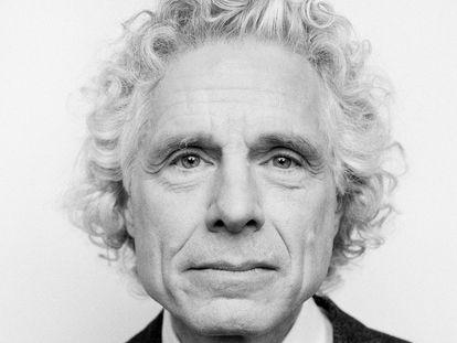 Steven Pinker, catedrático de Harvard, numa foto de 2019.