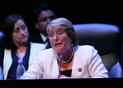 A presidente eleita do Chile, Michelle Bachelet.