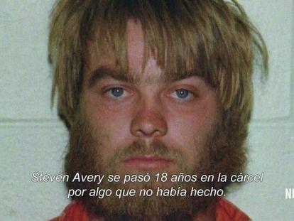 Steven Avery, em 1985.