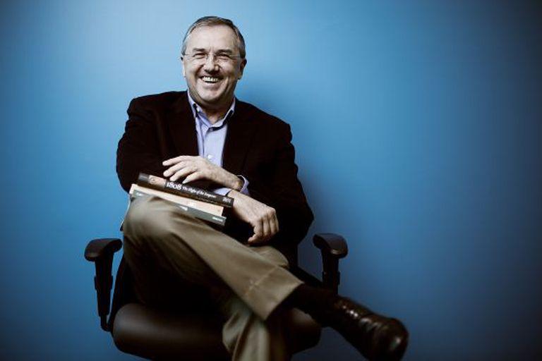 O jornalista e historiador Laurentino Gomes.