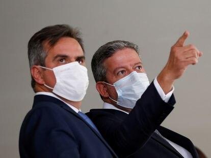 Os expoentes do Centrão e do PP, o ministro da Casa Civil, Ciro Nogueira e o presidente da Câmara, Arthur Lira.