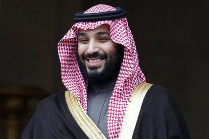 O príncipe saudita Mohamed bin Salman, em abril passado, em Paris.