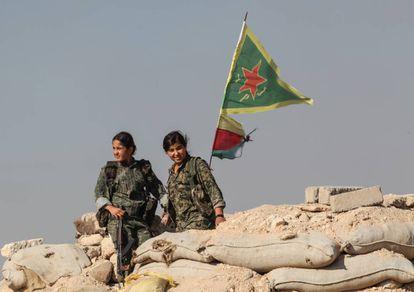 Guerrilleras curdas.