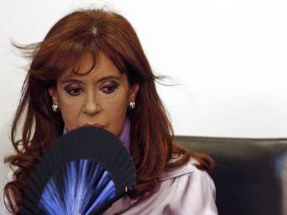A presidenta Cristina Kirchner.