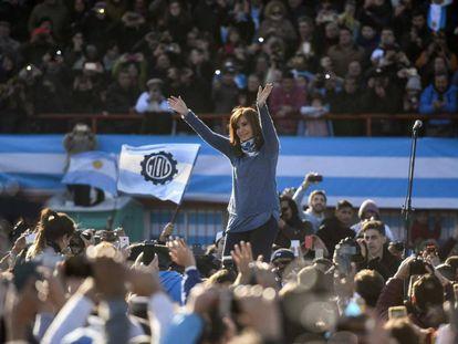 Cristina Kirchner, em 20 de junho.