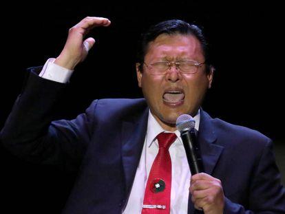 O candidato Chi Hyun Chung.