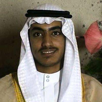 Hamza bin Laden no seu casamento, em foto obtida pela CIA.