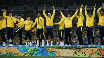 Brasil cura obsessão do ouro no futebol