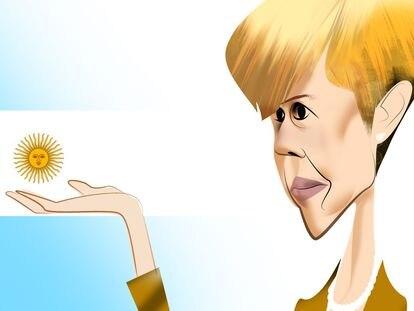 Silvina García Larraburu, por Luis Grañena.