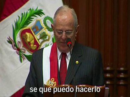 Kuczynski promete transformar o Peru em um país moderno até 2021