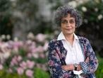 HAY-ON-WYE, WALES - JUNE 2: Arundhati Roy, Booker Prize winning author, during the 2019 Hay Festival on June 2, 2019 in Hay-on-Wye, Wales. (Photo by David Levenson/Getty Images)