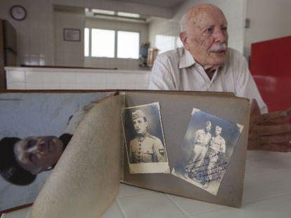 O ex-combatente brasileiro Julio do Valle.