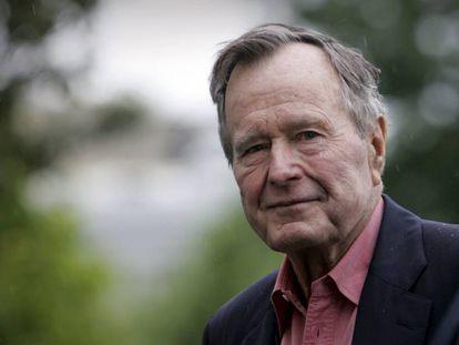 George H.W. Bush, em imagem de 2008.