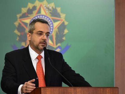 Cerimônia de posse do ministro da Educação, Abraham Weintraub.