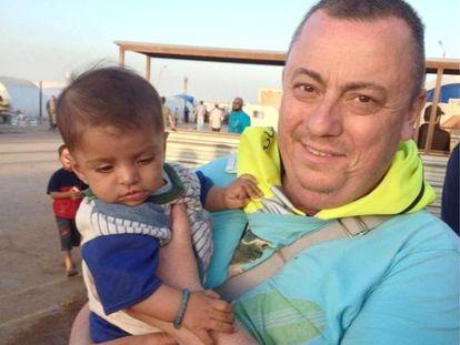 Alan Henning, trabalhador humanitário, foi sequestrado na Síria.