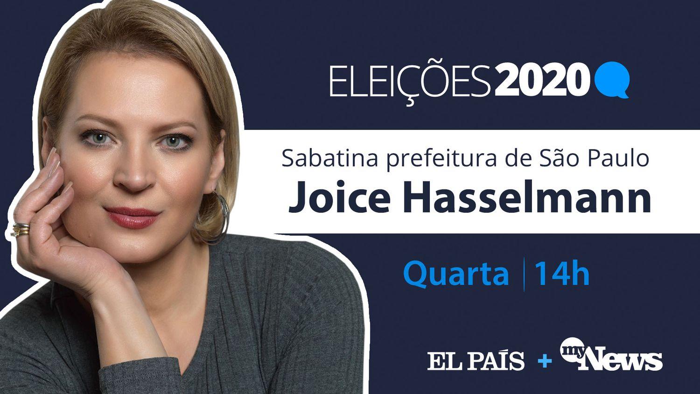 Joice Hasselmann, candidata do PSL à Prefeitura de São Paulo.