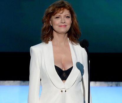 Susan Sarandon na cerimônia do Screen Actors Guilde em Los Angeles, no último dia 30.