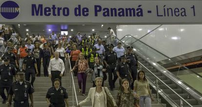 Metrô do Panamá, que foi inaugurado nesta sexta-feira.