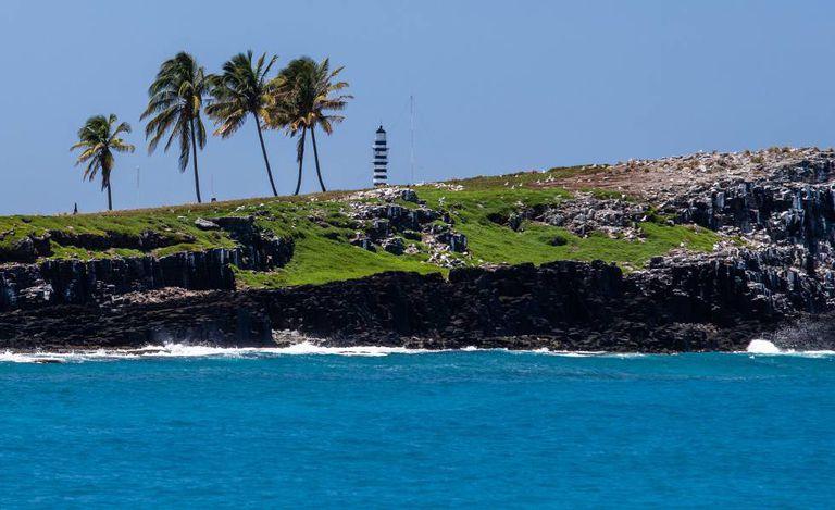 Arquipélago de Abrolhos, no sul da Bahia.