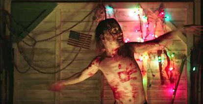 Macaulay Culkin aparece com esse aspecto macabro em ':DRYVRS''.