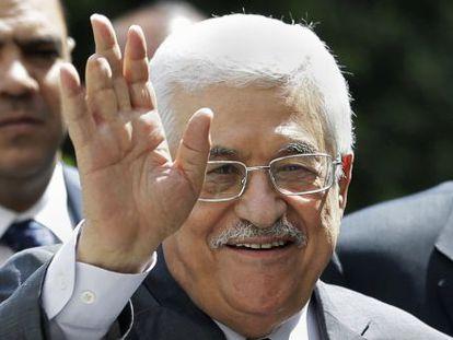 O presidente da ANP e líder da facção Fatah, Mahmud Abbas.